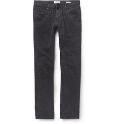 Frame Denim Vinnodh Slim-Fit Washed-Denim Jeans