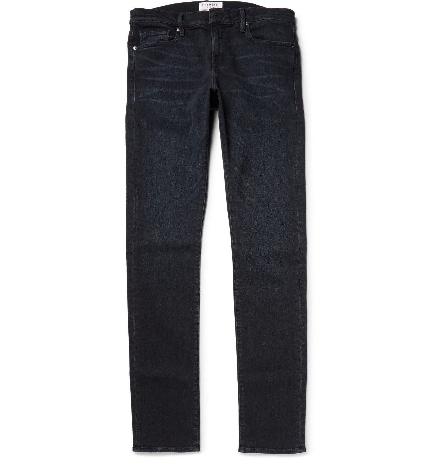Frame L Homme Slim Fit Dry Denim Jeans