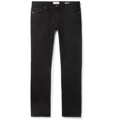 Frame Denim L'Homme Noir Slim-Fit Denim Jeans