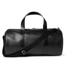 Saint Laurent Coated-Canvas Leather Holdall