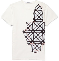 Chalayan Printed Cotton-Jersey T-Shirt