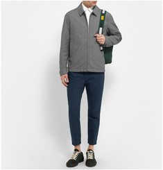 Marni Slim-Fit Cotton and Linen-Blend Trousers