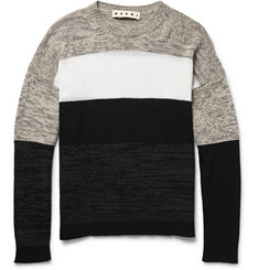 Marni Colour-Block Cashmere Sweater