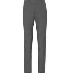 Marni Slim-Fit Micro-Check Cotton Trousers