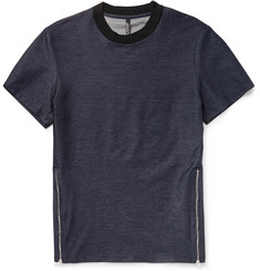Neil Barrett Zipped Denim T-Shirt