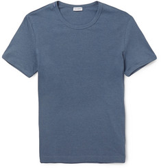 Dolce & Gabbana Fine-Ribbed Cotton-Blend Jersey T-Shirt