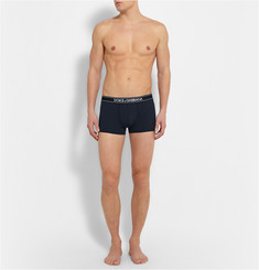 Dolce & Gabbana Pure Stretch Cotton-Jersey Boxer Briefs