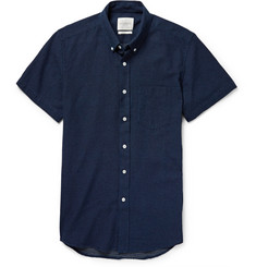 Saturdays Surf NYC Stitched Cotton Shirt