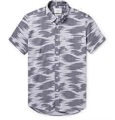 Saturdays Surf NYC Esquina Cotton-Jacquard Shirt