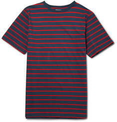 Saturdays Surf NYC Brandon Striped Cotton T-Shirt