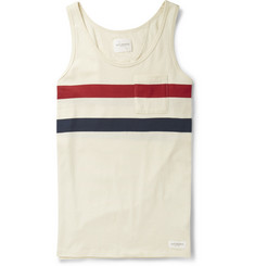 Saturdays Surf NYC Rosen Striped Cotton Tank Top