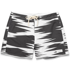 Saturdays Surf NYC Safari-Print Swim Shorts