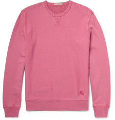 Burberry Brit Pink Loopback Cotton Sweatshirt