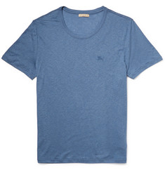 Burberry Brit Slub Jersey Crew Neck T-Shirt