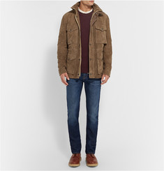Burberry Brit Suede Field Jacket