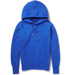 Christopher Kane Fleece-Back Cotton-Blend Jersey Hoodie