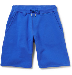 Christopher Kane Fleece-Back Cotton-Blend Jersey Shorts