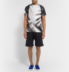 Christopher Kane Embossed Tech-Jersey Shorts