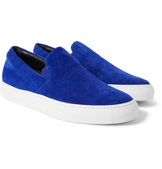 Christopher Kane Suede Slip-On Sneakers