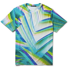 Christopher Kane Pages Printed Cotton-Jersey T-Shirt