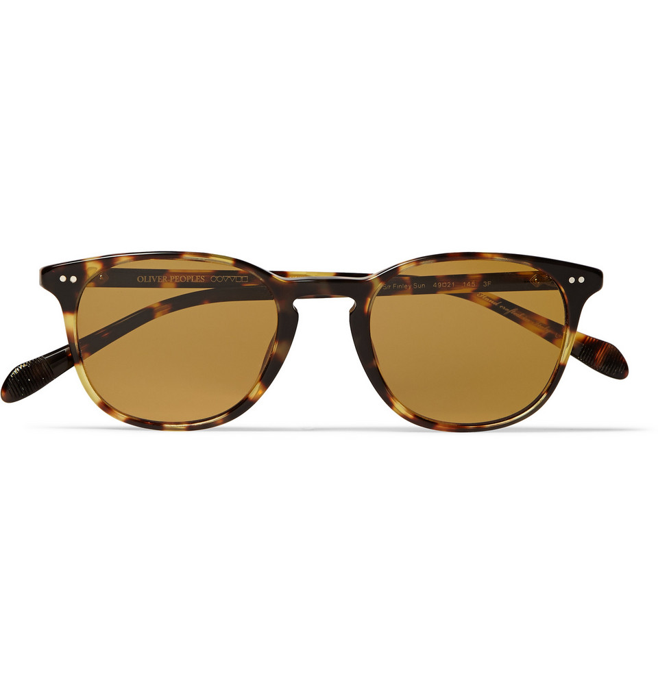 Sir Finley Tortoiseshell Acetate Sunglasses Brown
