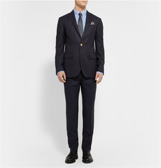 Polo Ralph Lauren Blue Wool Blazer