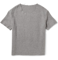 The Elder Statesman Cutter Cashmere T-Shirt