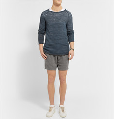 The Elder Statesman Cashmere Shorts