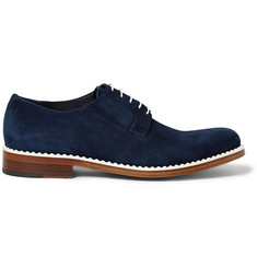 Jimmy Choo Alaric Suede Derby Shoes