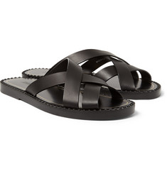 Jimmy Choo Wendel Leather Sandals