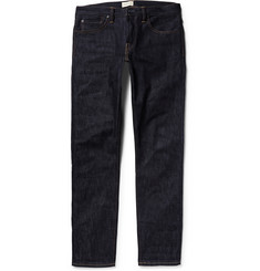 Simon Miller M002 Slim-Fit Straight-Leg Dry Selvedge Denim Jeans