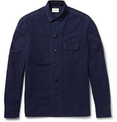 Simon Miller M053 Beckley Indigo-Rinsed Denim Jacket