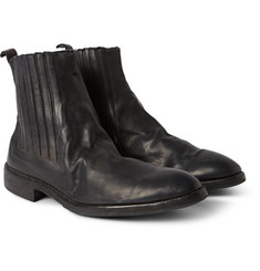 Guidi Oiled-Leather Chelsea Boots