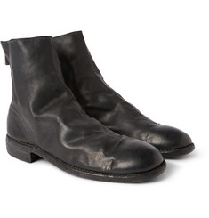 Guidi Full-Grain Leather Chelsea Boots