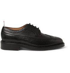 Thom Browne Leather Wingtip Brogues