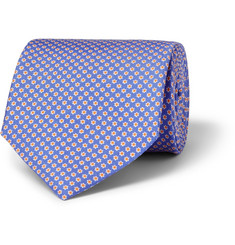 Emma Willis Patterned Silk Tie