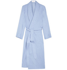 Emma Willis Cotton and Cashmere-Blend Dressing Gown