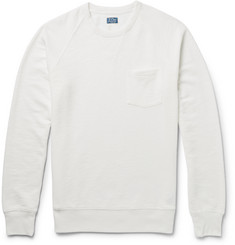J.Crew Slubbed Cotton-Blend Sweatshirt