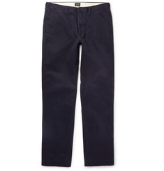 J.Crew Urban Tapered Cotton-Twill Chinos