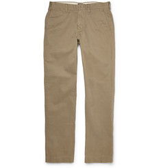 J.Crew Urban Tapered Cotton-Twill Trousers