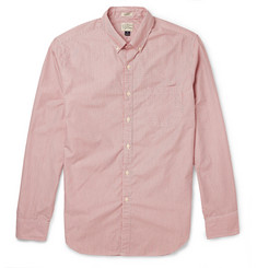 J.Crew Button-Down Collar Striped Washed-Cotton Shirt