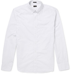 J.Crew Pin-Dot Button-Down Collar Cotton Shirt