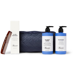 Elton John Aids Foundation Baxter of California Grooming Set with Wash Bag