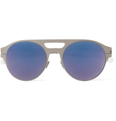 Mykita Hudson Aviator Stainless Steel Sunglasses