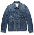 visvim - 101 Washed-Denim Jacket