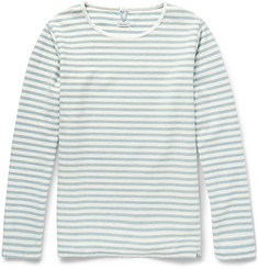 Visvim Border Striped Cotton T-Shirt