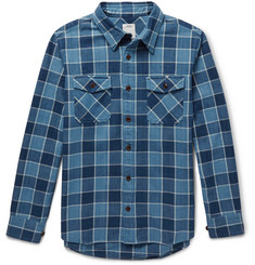Visvim Black Elk Checked Cotton Shirt