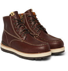 Visvim 7 Hole Moc Toe Leather Boots
