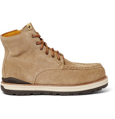 Visvim 7 Hole Moc Toe Suede Boots