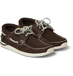 Visvim Hockney Suede Boat Shoes